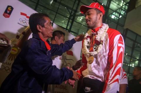 Tim Voli SEA Games 2019 Tiba di Tanah Air