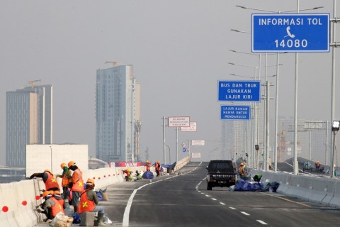 Kementerian PUPR Hitung Tarif Tol Layang Jakarta-Cikampek