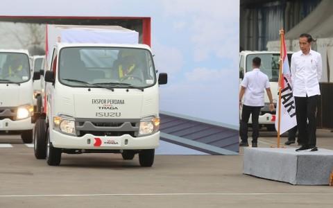 Presiden Targetkan Ekspor Otomotif Capai 1 Juta Unit pada 2024