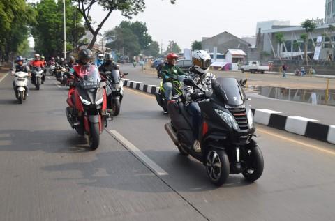 Berkendara Sepeda Motor Bagus untuk Kesehatan Badan dan Pikiran