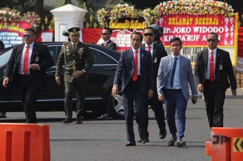 Jokowi Ogah Mencampuri Pencalonan Gibran dan Bobby