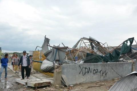 Puting Beliung Terjang Lima Desa di Kabupaten Tangerang