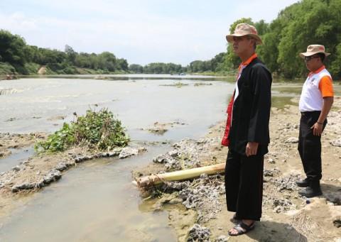 Ganjar Sebut Pencemaran Sungai Bengawan Solo Berkurang