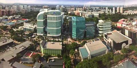 Mengintip Proyek 'Silicon Valley' Singapura, One-North