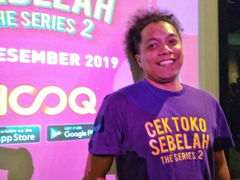 Arie Kriting Kurang Nyaman Jalani Dua Peran Sekaligus