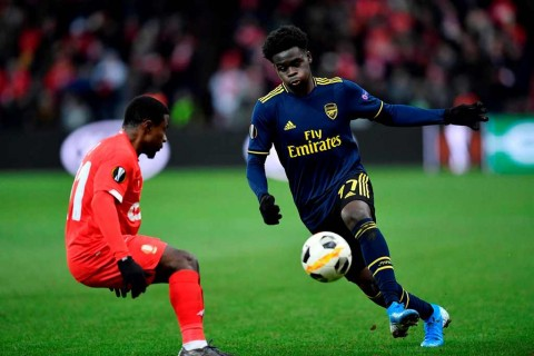 Performa Gemilang Pemain Muda Arsenal Tuai Pujian