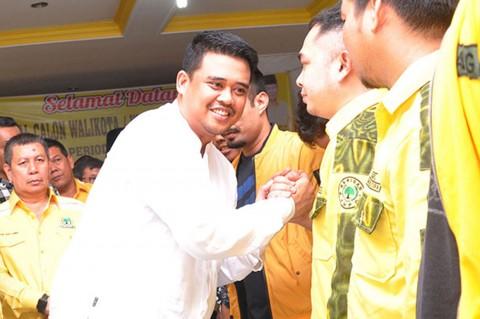 Bobby Nasution Daftar Calon Wali Kota Medan ke Golkar