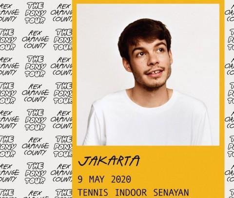 Rex Orange County Awali Tur Asia di Jakarta Mei 2020