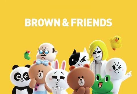 Karakter Line Friends Bakal Jadi Serial Animasi Netflix