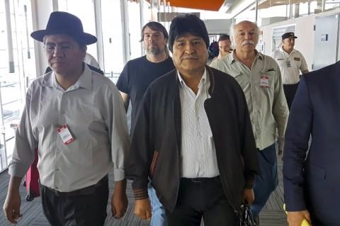 Evo Morales Diberikan Status Pengungsi di Argentina