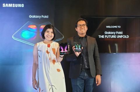 Samsung Galaxy Fold Meluncur di Indonesia