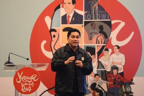 Erick Thohir Moratorium Pembentukan Anak Usaha BUMN