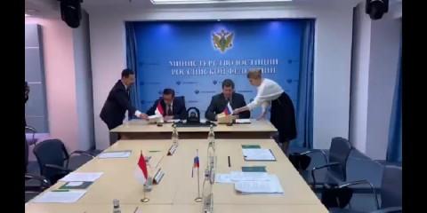 RI-Rusia MoU Bantuan Hukum Timbal Balik Masalah Pidana