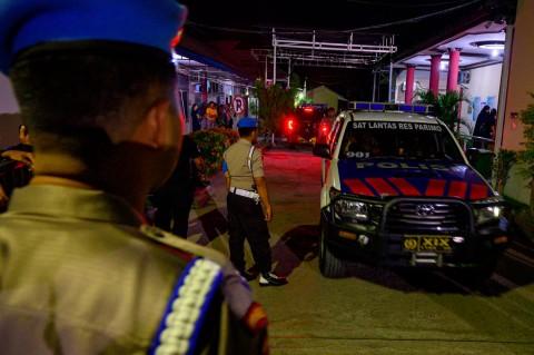 Jenazah Polisi Tertembak Teroris MIT Poso Disemayamkan di RS Bhayangkara