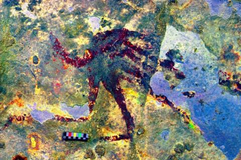 Lukisan Berumur 44 Ribu Tahun Ditemukan di Gua Sulawesi Selatan
