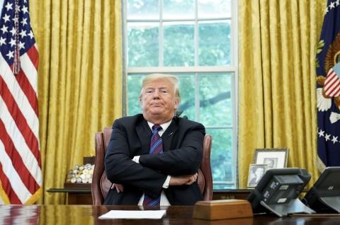 DPR AS Sepakati Dua Pasal Pemakzulan Trump