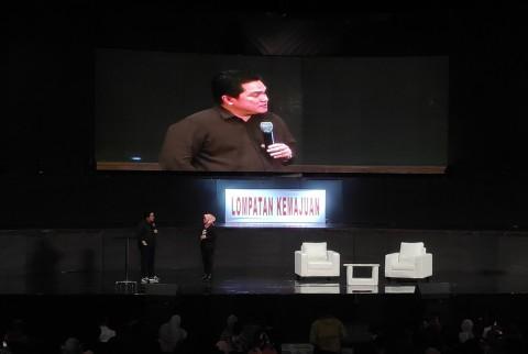 Hadiri MilenialFest 2019, Erick Thohir Singgung Kasus Garuda