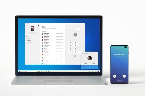 Aplikasi Microsoft Your Phone Dapat Tangani Panggilan Telepon