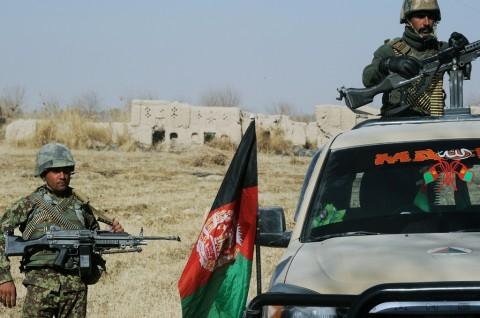 'Serangan Orang Dalam' Tewaskan 9 Milisi Afghanistan