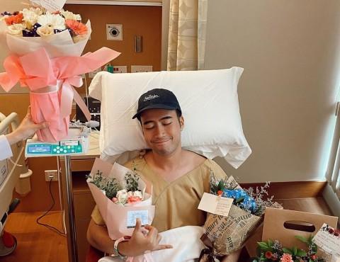 Operasi Angkat Kanker Ginjal Vidi Aldiano Berjalan Lancar