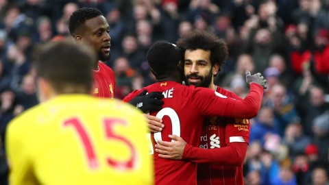 Brace Salah Bawa Liverpool Semakin Kokoh di Puncak Klasemen
