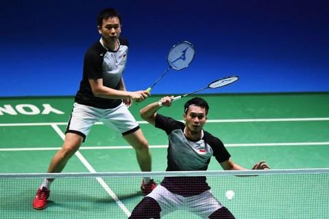 Tundukkan Wakil Taiwan, Ahsan/Hendra ke Final