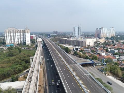Jalan Tol Layang Japek Mulai Dibuka untuk Umum
