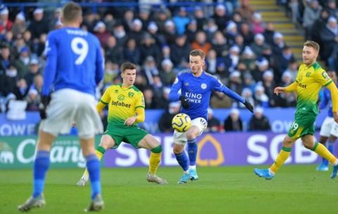 Ditahan Norwich, Leicester Gagal Pangkas Jarak dengan Liverpool
