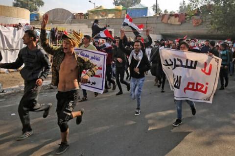 DK PBB Minta Kubu Bertikai di Irak Menahan Diri