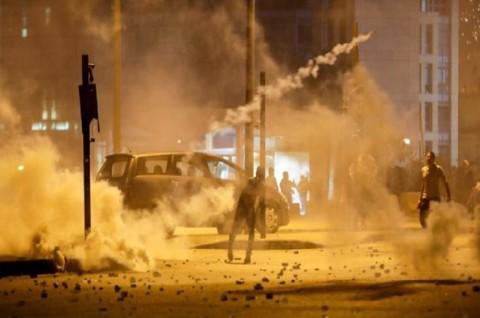 Bentrokan di Beirut Lukai Puluhan Orang