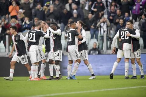 Cukur Udinese, Juve Geser Inter dari Puncak Klasemen