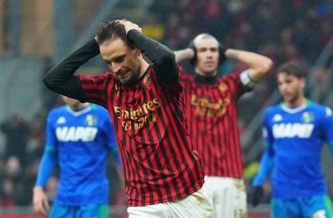 Duel Milan vs Sassuolo Berakhir Tanpa Pemenang