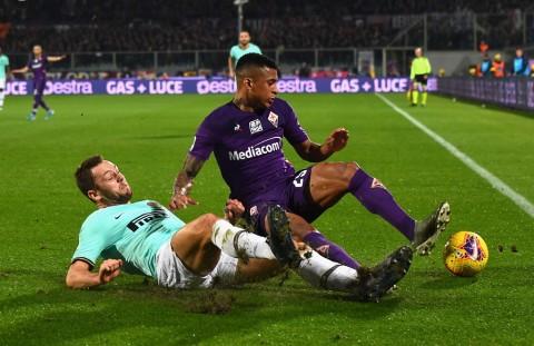 Curi Poin dari Fiorentina, Inter kembali Salip Juventus