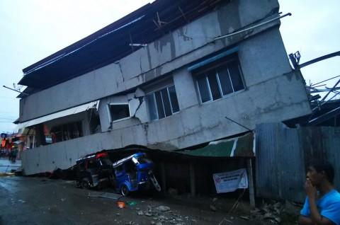 Gempa Magnitudo 6,9 di Filipina Tewaskan 4 Orang