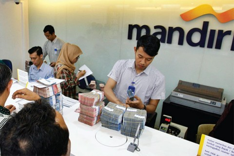 Bank Mandiri Siapkan Uang Rp33,5 Triliun