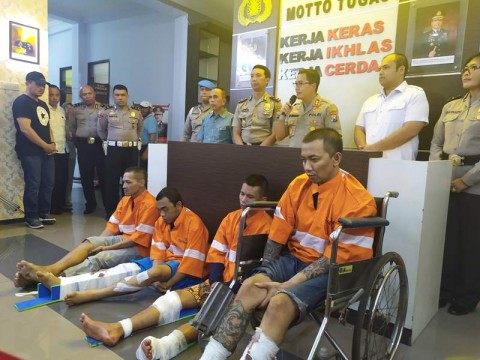 4 Tahanan Kabur di Malang Kembali Ditangkap