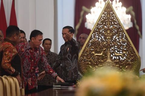 Jokowi Minta PSSI Benahi Sistem Kompetisi