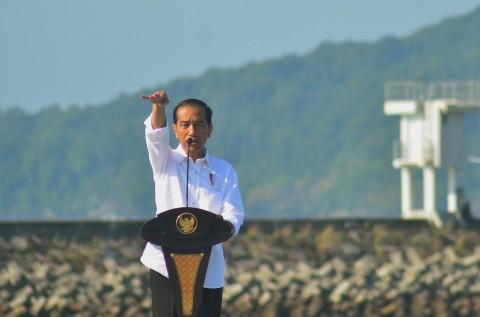 Jokowi Appeals Regional Heads to Use Omnibus Law