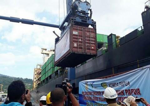 Ekspor Papua Menurun