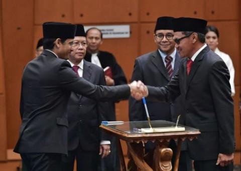 Nadiem Lantik Empat Pejabat Baru