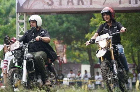 Ridescape Edisi Malang, Bikers Rusia Ikut Seru-Seruan