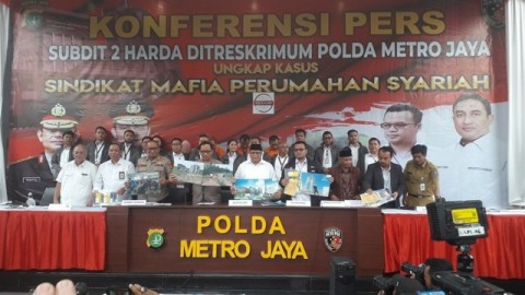 3.680 Warga Tertipu Mafia Perumahan Berbasis Syariah
