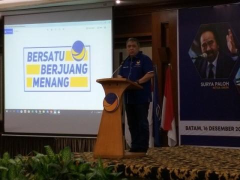 NasDem Dorong Kader Penuhi Janji saat Kampanye