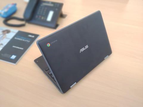 Bidik Segmen Pendidikan, ASUS Punya Chromebook Flip C214