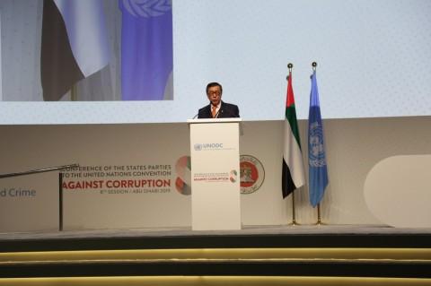 Di Konferensi PBB, Menkumham Tegaskan Komitmen RI Berantas Korupsi