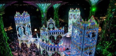 Kemeriahan Christmas Wonderland di Singapura