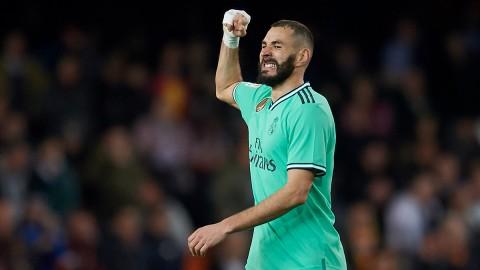 Benzema Optimistis Permalukan Barca di Camp Nou