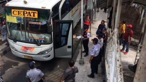 Dishub Usir 6 Bus dari Terminal Purabaya