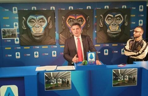 Pasang Gambar Monyet, Kampanye Antirasisme Serie A Dikritik