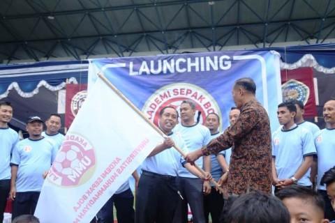 Kampus UMM Resmi Miliki Akademi Sepak Bola